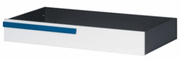 Чекмедже за под легло 90/200 Алекс - графит/дъб сонома/бял